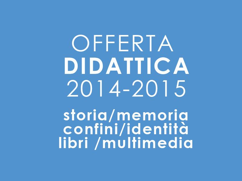 Offerta didattica 2014-15