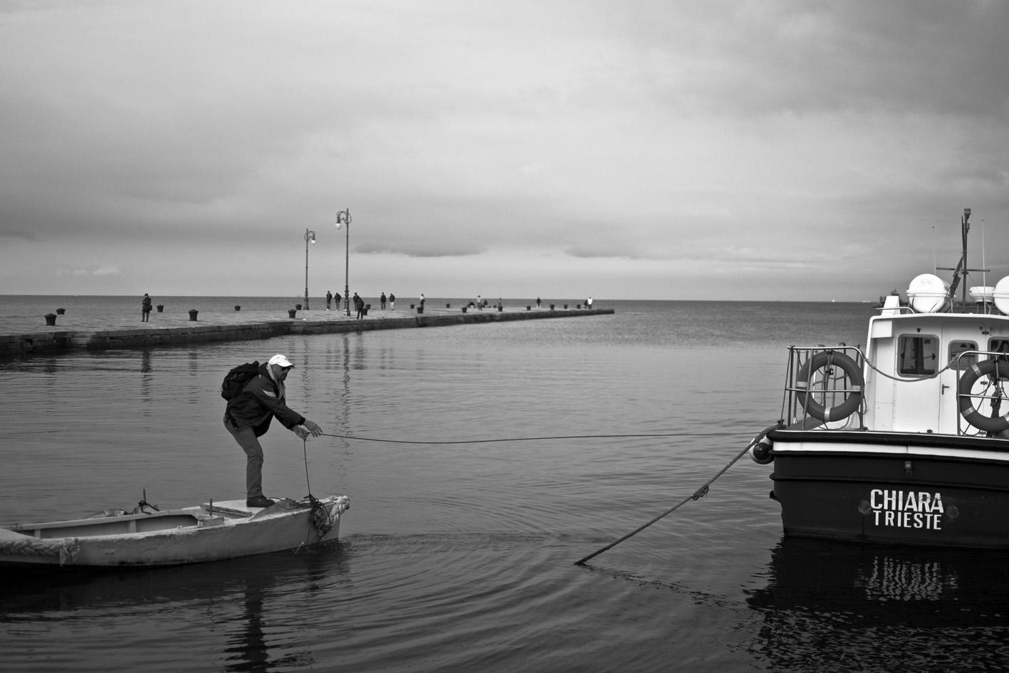 Trieste, percorsi di confine
