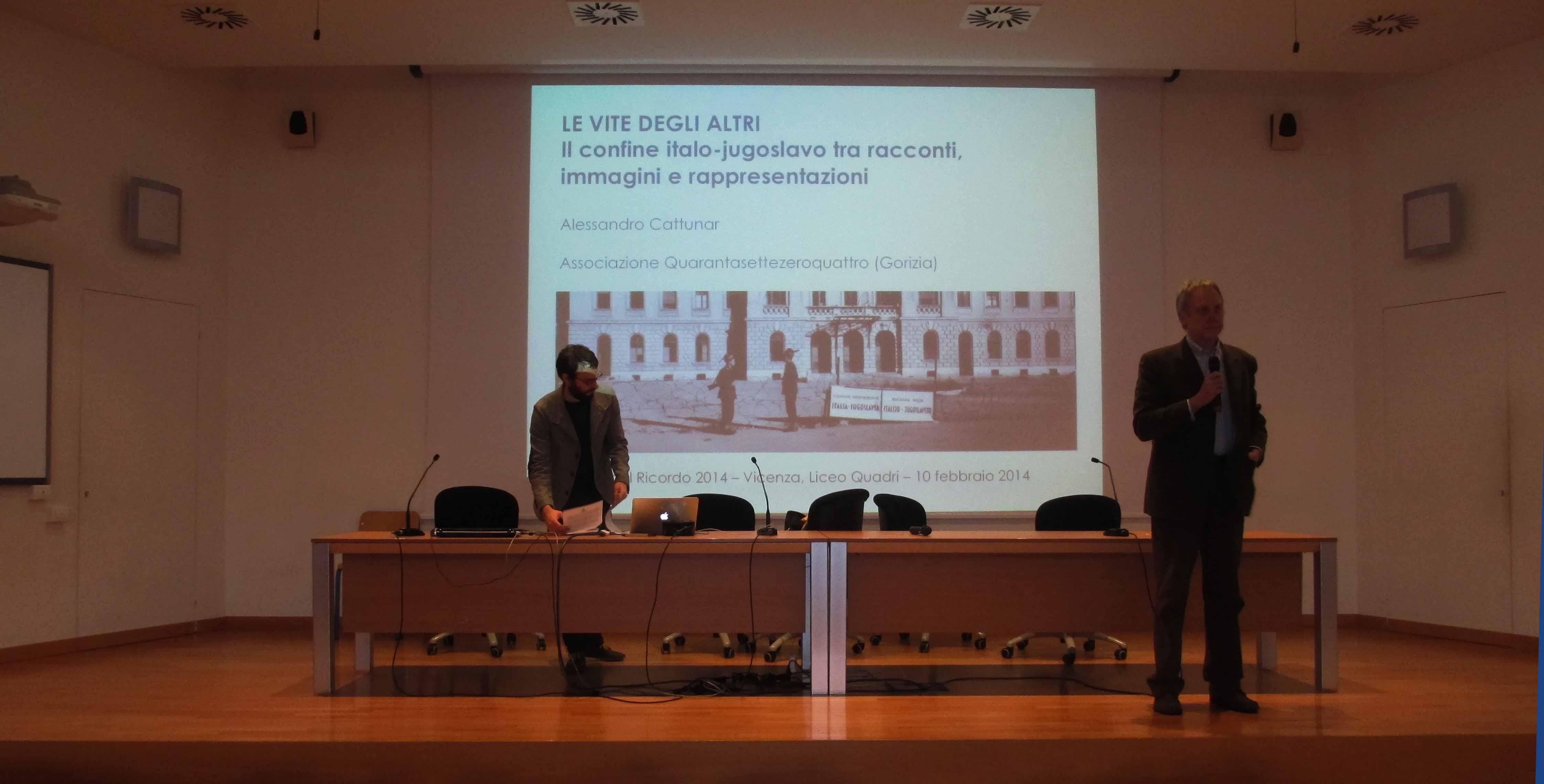 Giorno del Ricordo 2014 - Vicenza, Portogruaro